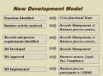 new development model