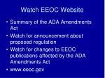 watch eeoc website