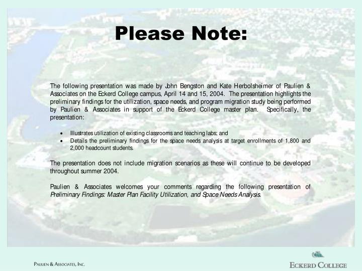 please note n.