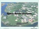 space needs analysis