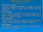 medidas de control10