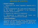 medidas de control8