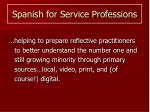 spanish for service professions1