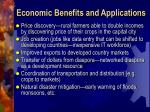economic benefits and applications1