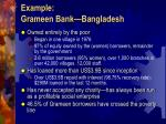 example grameen bank bangladesh