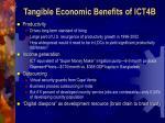 tangible economic benefits of ict4b