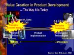 value creation in product development1