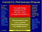 current i g pool insurance program