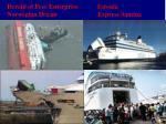 herald of free enterprise estonia norwegian dream express samina