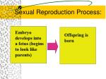 sexual reproduction process1