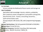 actuarial2