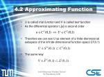 4 2 approximating function1