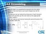 4 6 assembling