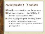 preoxygenate t 5 minutes