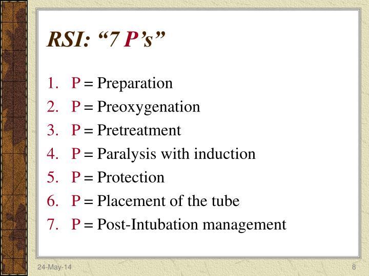 """RSI: """"7"""
