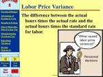 labor price variance