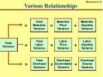various relationships