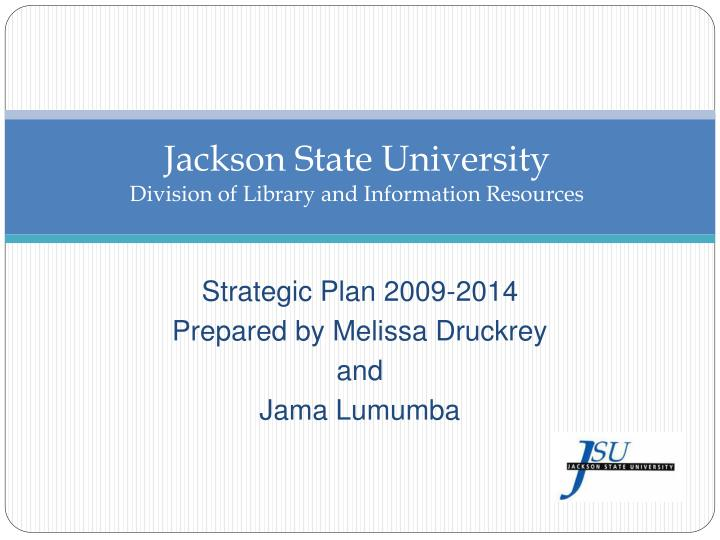 jackson state university division of library and information resources n.