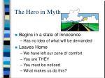 the hero in myth