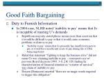 good faith bargaining4
