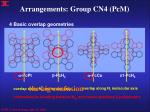 arrangements group cn4 pcm