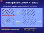 arrangements group cn4 pcm1