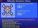 molecular structures basics