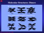 molecular structures dimers