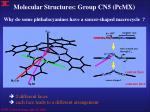molecular structures group cn5 pcmx