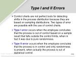 type i and ii errors