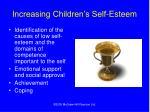 increasing children s self esteem