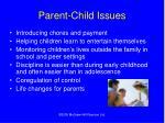 parent child issues