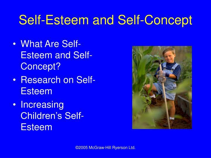 Self-Esteem and Self-Concept