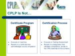 cplp is not