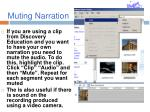 muting narration