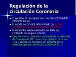 regulaci n de la circulaci n coronaria