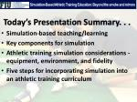 simulation based athletic training education beyond the smoke and mirrors12