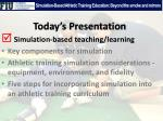simulation based athletic training education beyond the smoke and mirrors2