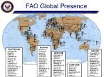 fao global presence