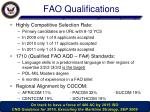fao qualifications