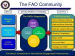 the fao community
