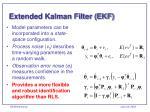 extended kalman filter ekf