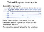 twisted ring counter example1