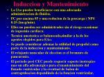 induccion y mantenimiento1