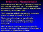 induccion y mantenimiento2