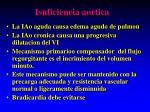 isuficiencia aortica