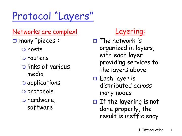 protocol layers n.