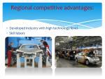 regional competitive advantages1