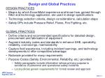 design and global practices