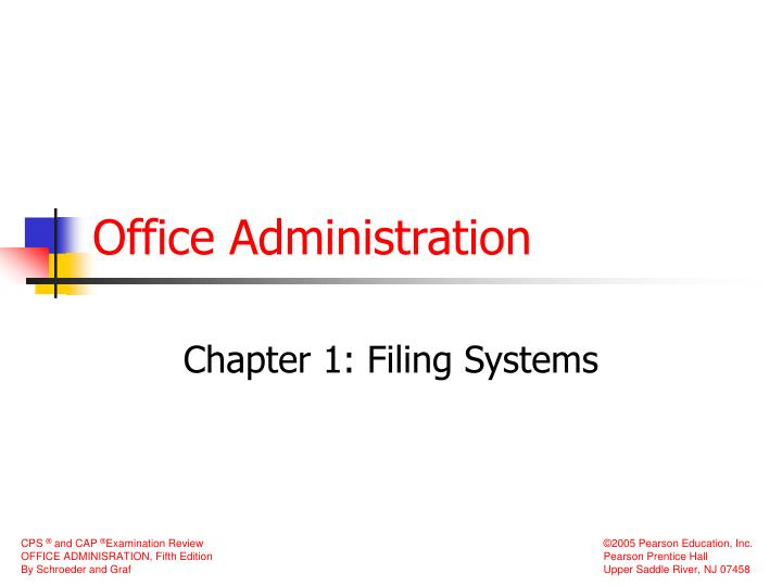 office administration n.